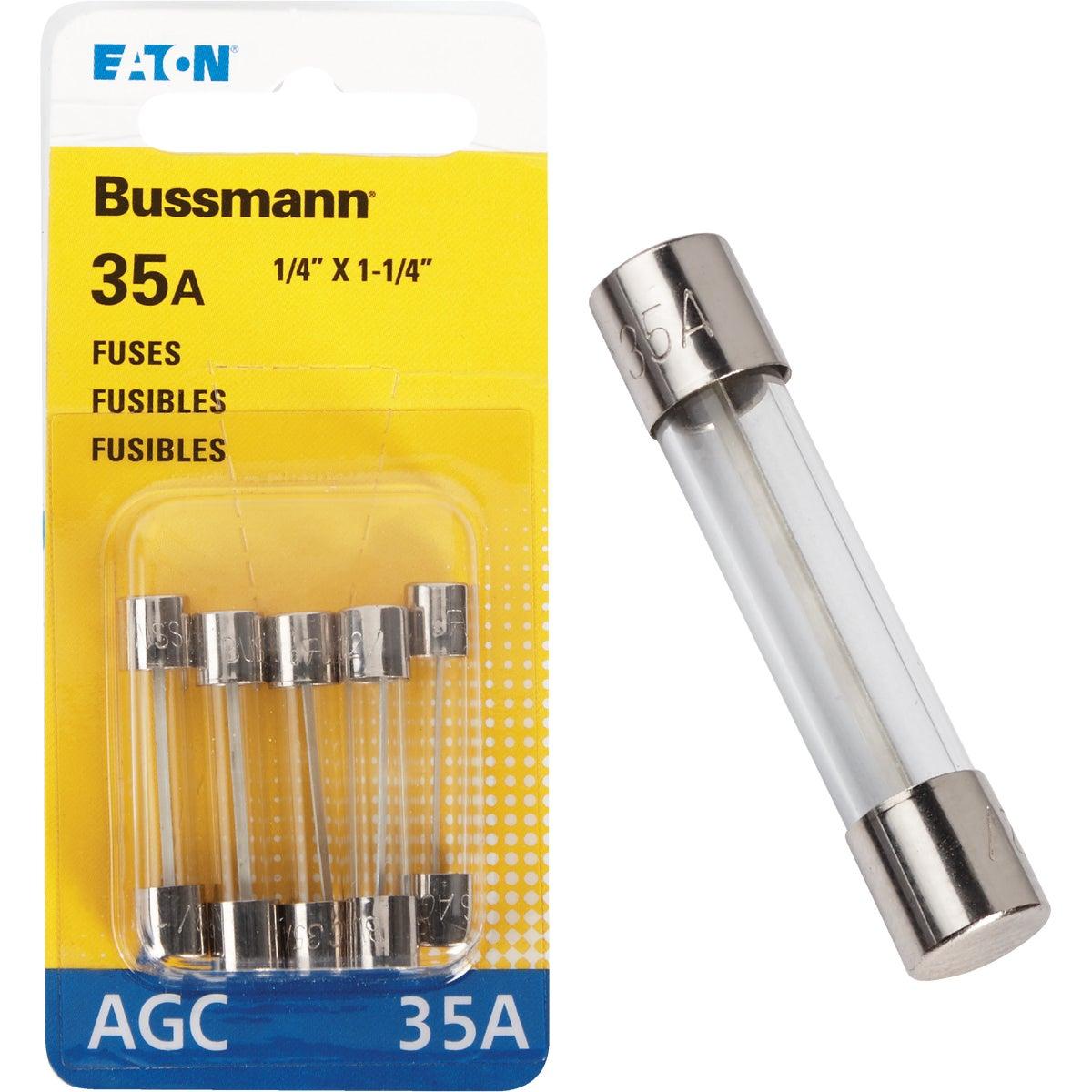 36 AMP FUSE - BP/AGC-35-RP by Bussmann Cooper