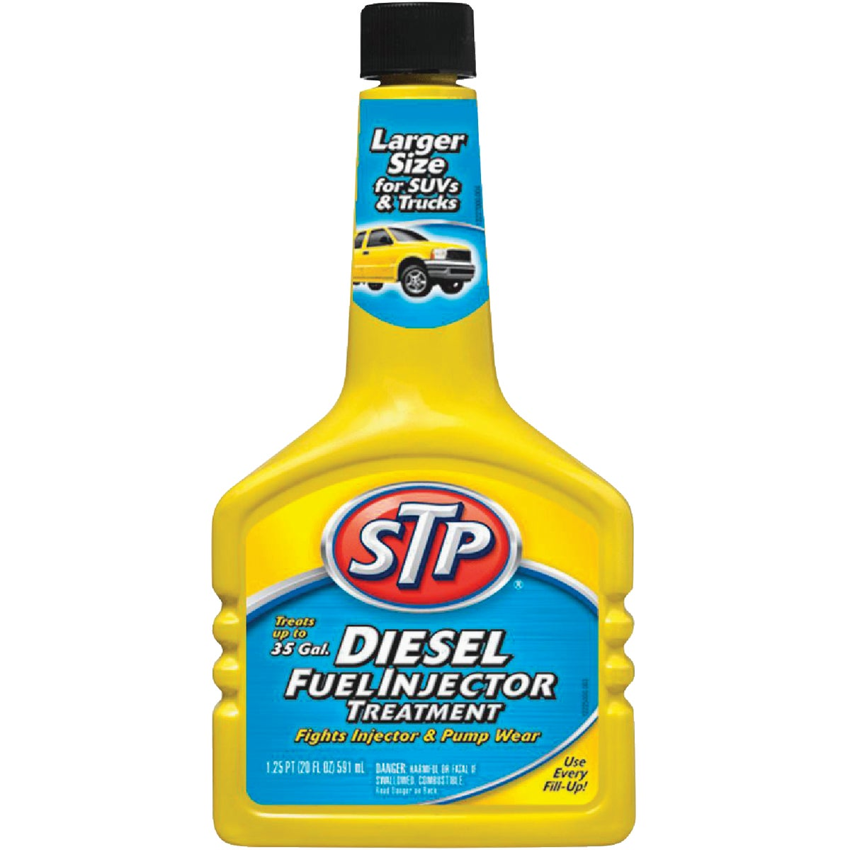 STP DIESEL & INJ CLEANER - 78380 by Armored Autogroup