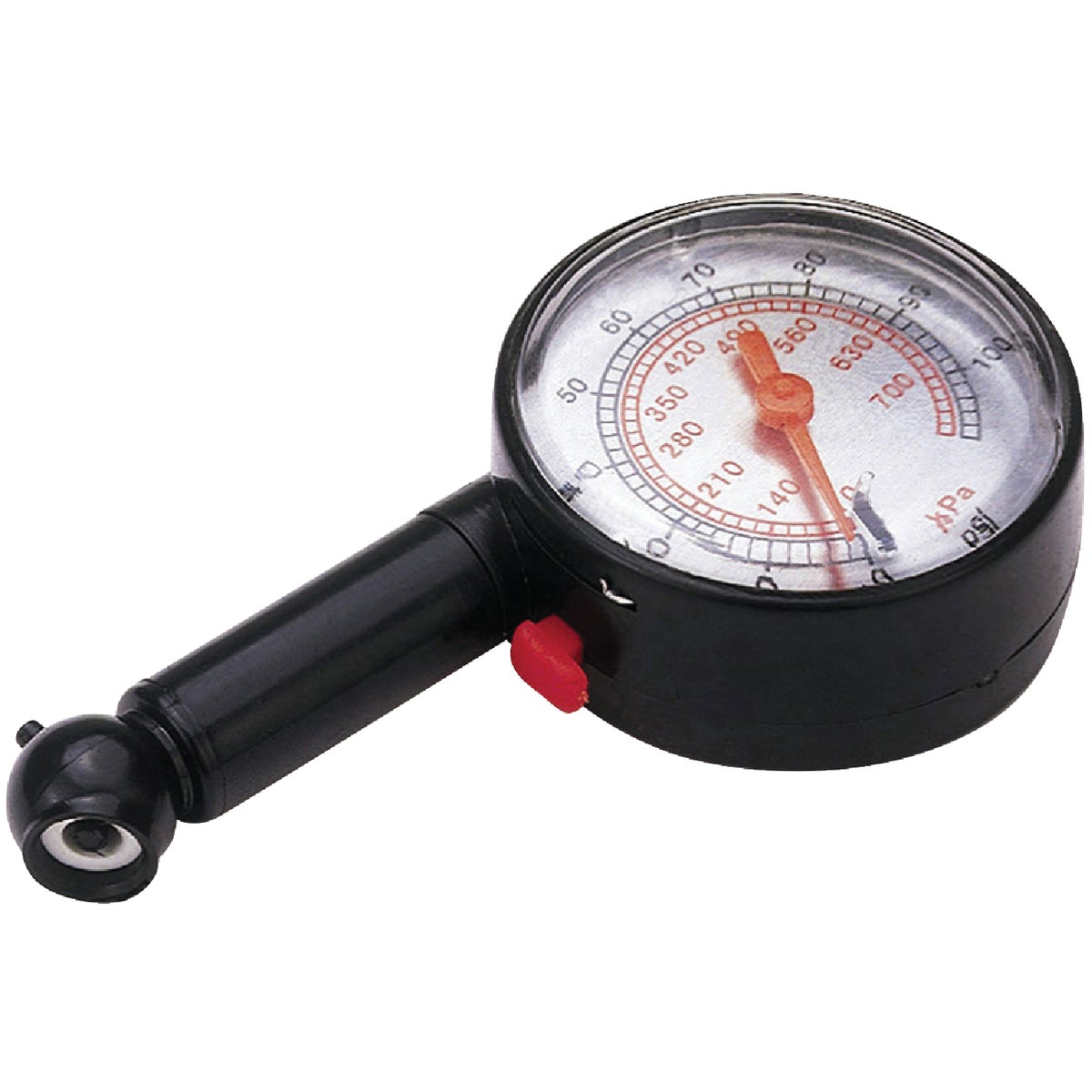 60PSI DIAL TIRE GAUGE - 75558 by Custom Accessories