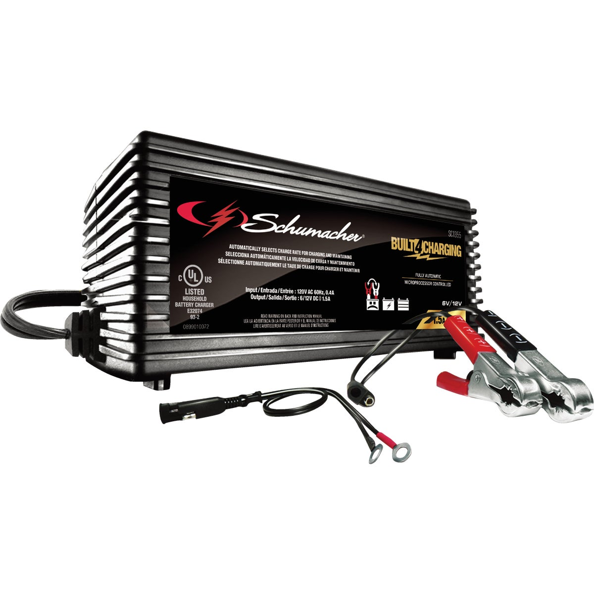 Schumacher SpeedCharge 6V/12V Battery Charger/Maintainer, SC1355