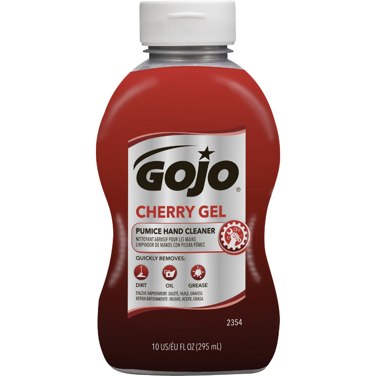 10OZ CHERRY GEL CLEANER - 2354-08 by Go Jo Industries