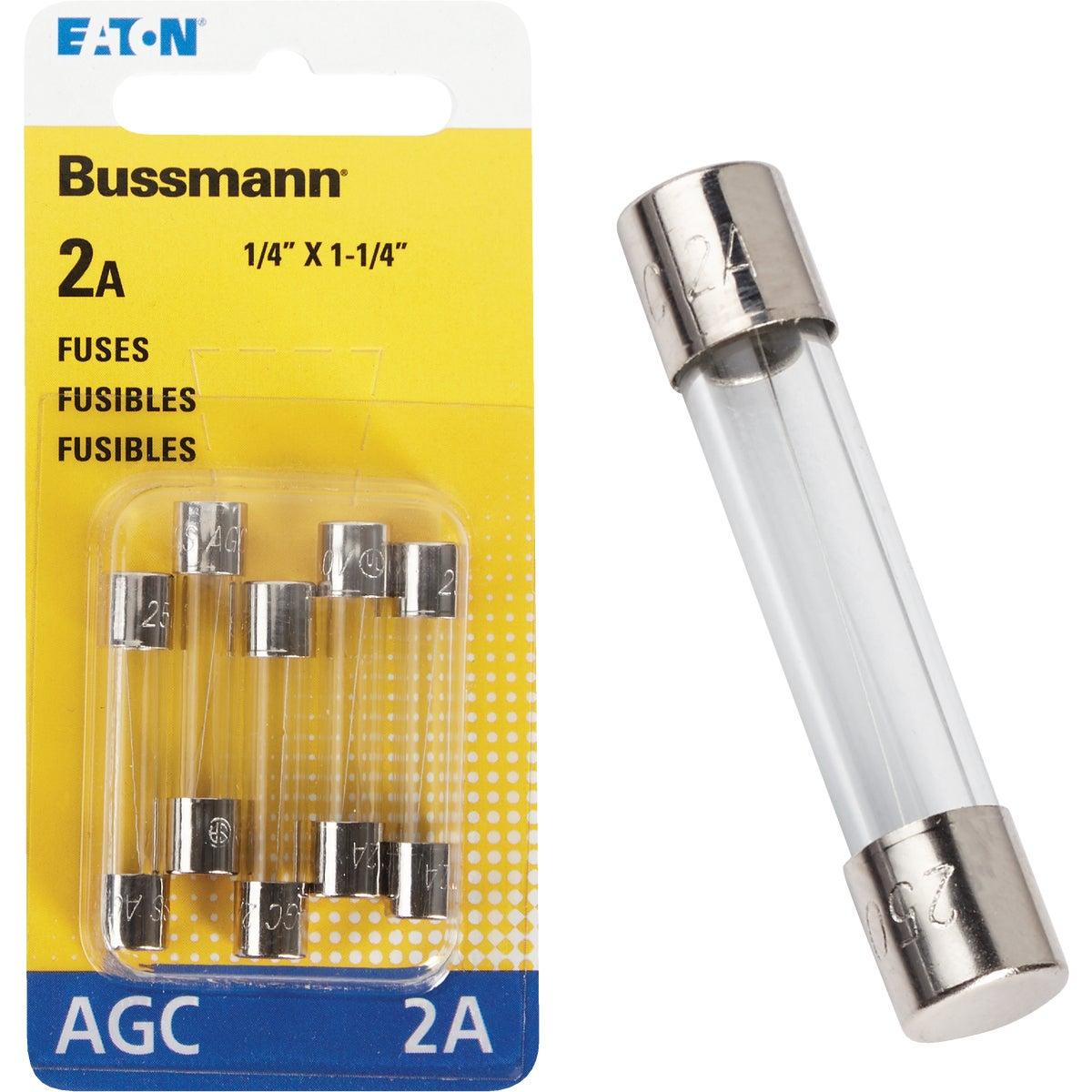 2AMP FUSE - BP/AGC-2-RP by Bussmann Cooper