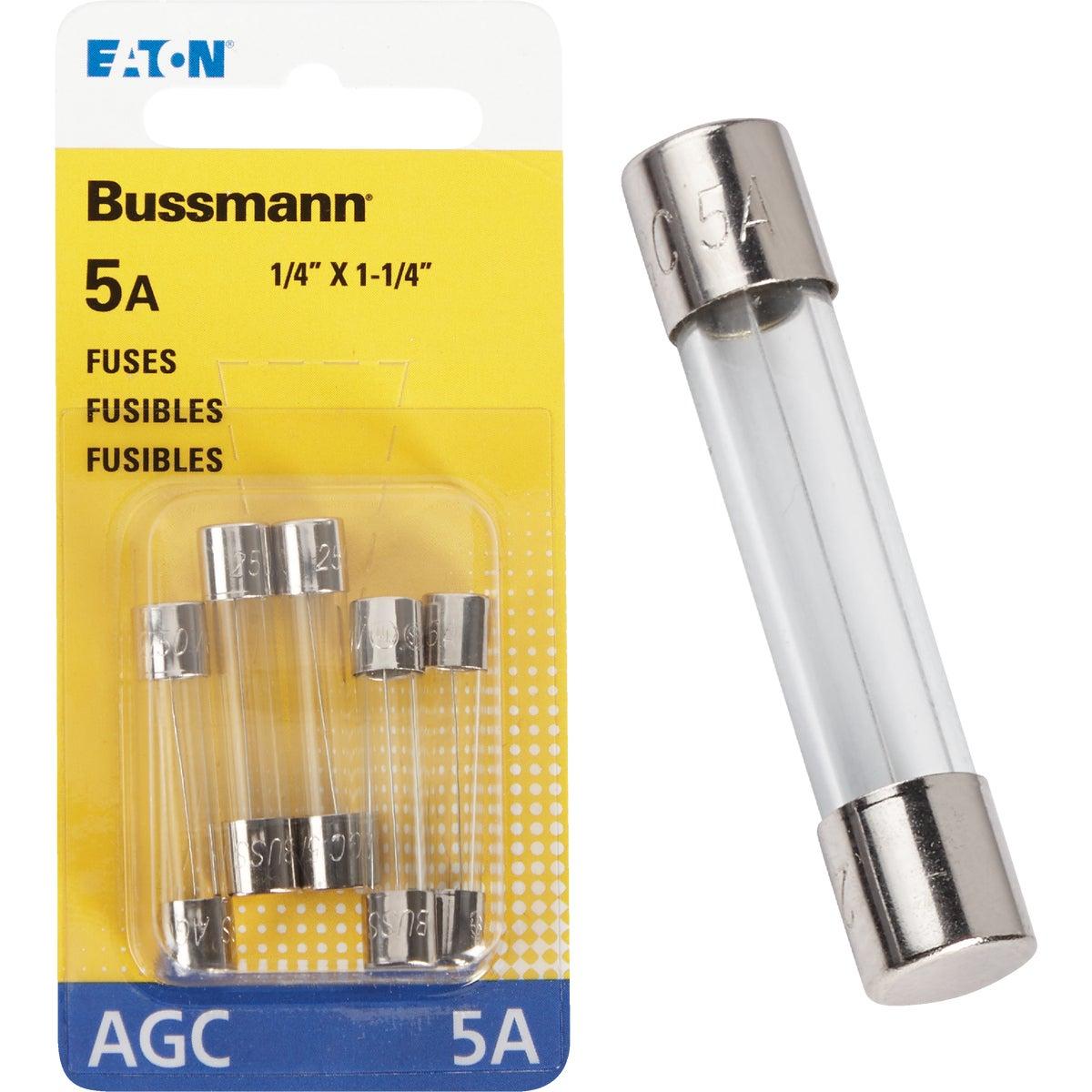 5AMP FUSE - BP/AGC-5-RP by Bussmann Cooper