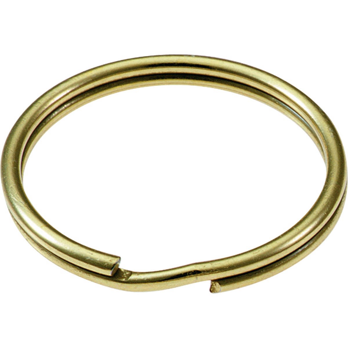 "2PK 7/8"" BRASS KEY RING - 77302 by Lucky Line Prod Inc"