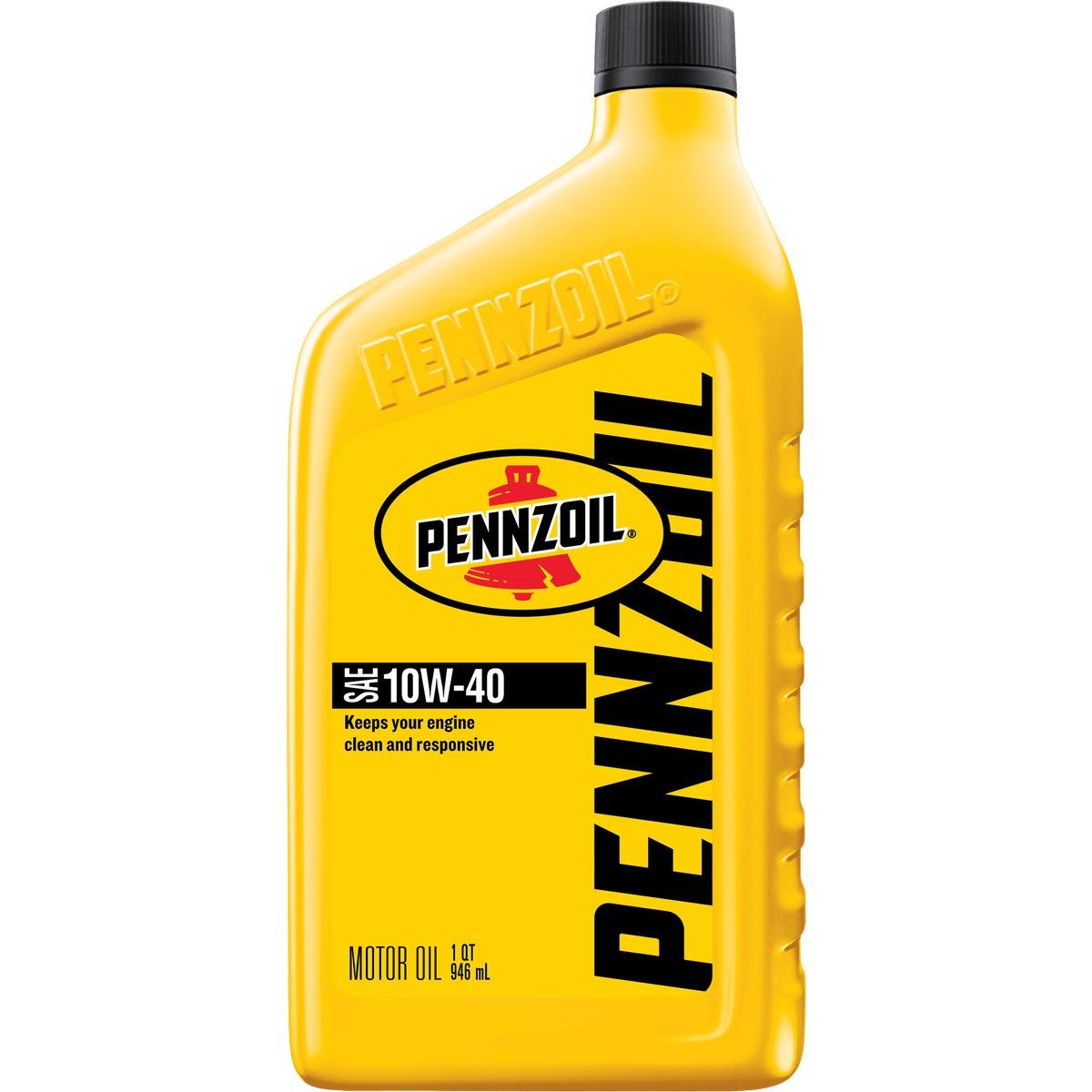 10W40 PENNZOIL MOTOR OIL