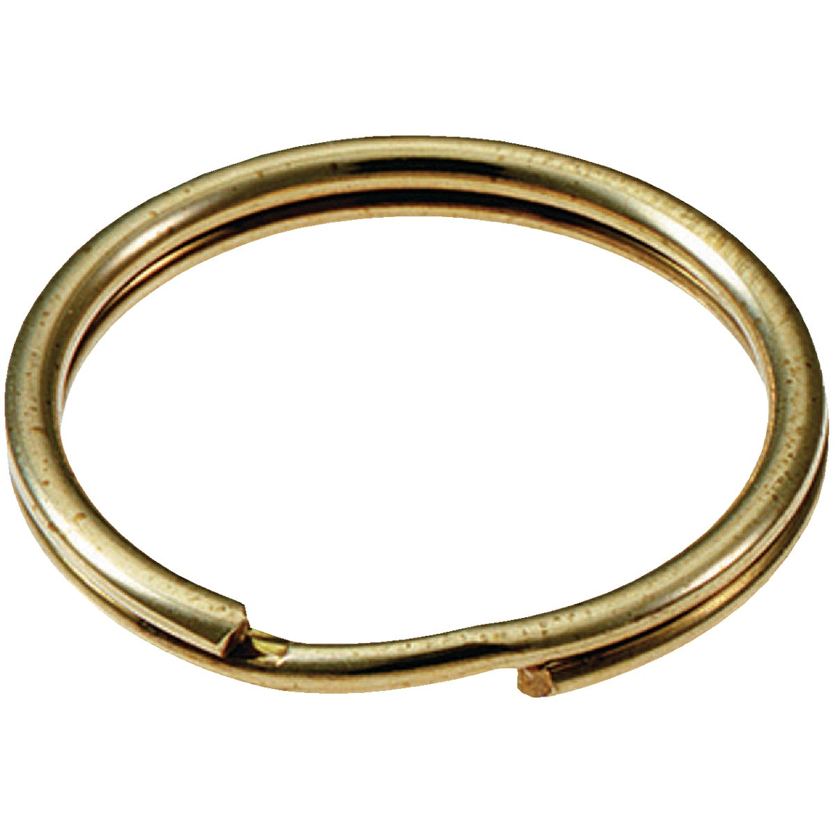 "1-1/2"" BRASS KEY RING - 77801 by Lucky Line Prod Inc"