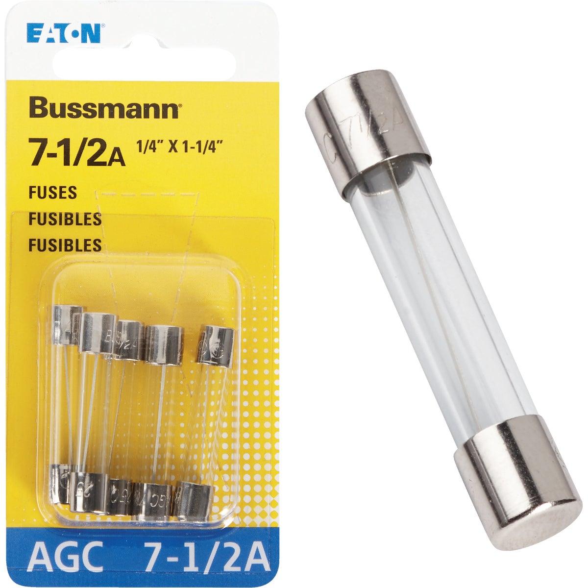 7-1/2AMP FUSE - BP/AGC-7-1/2-RP by Bussmann Cooper