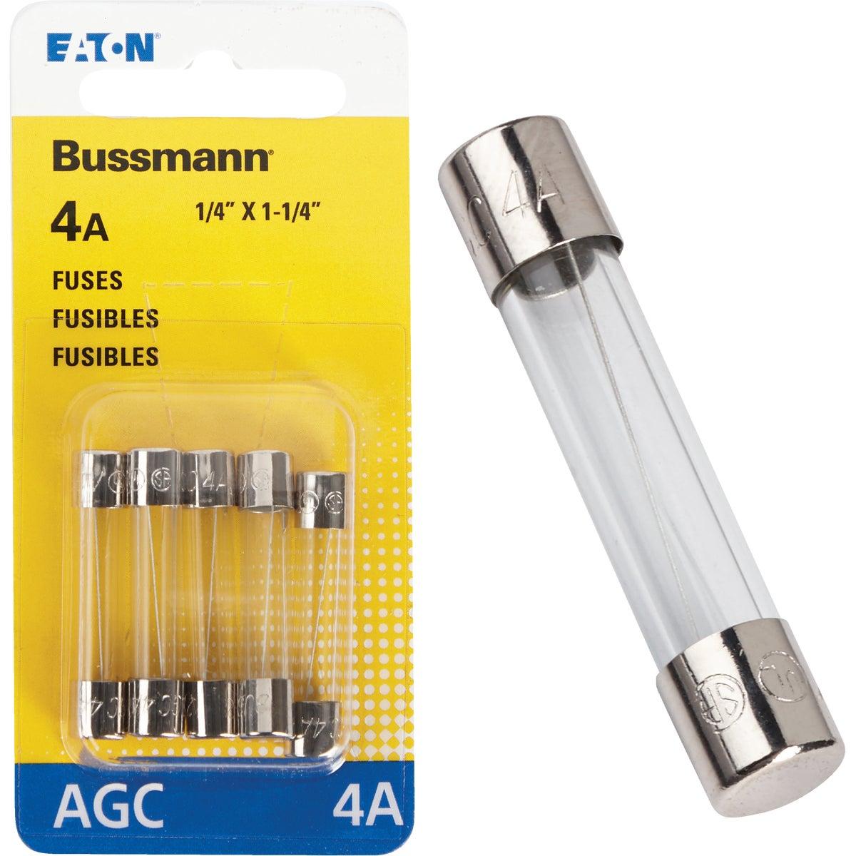 4AMP FUSE - BP/AGC-4-RP by Bussmann Cooper