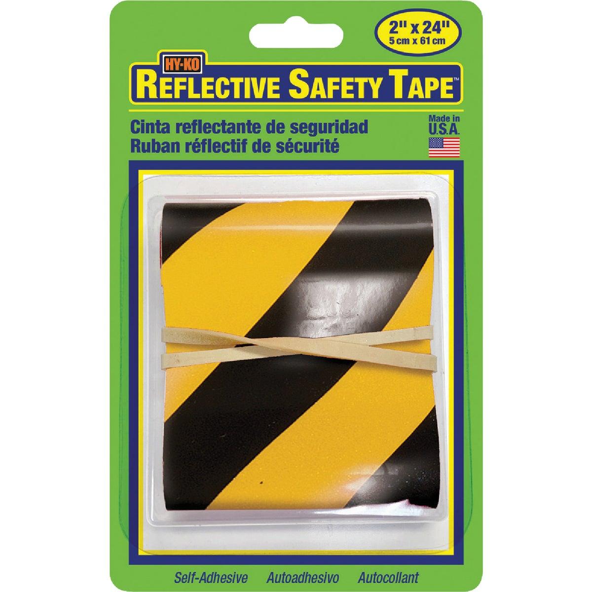 Yel/Blk Reflective Tape
