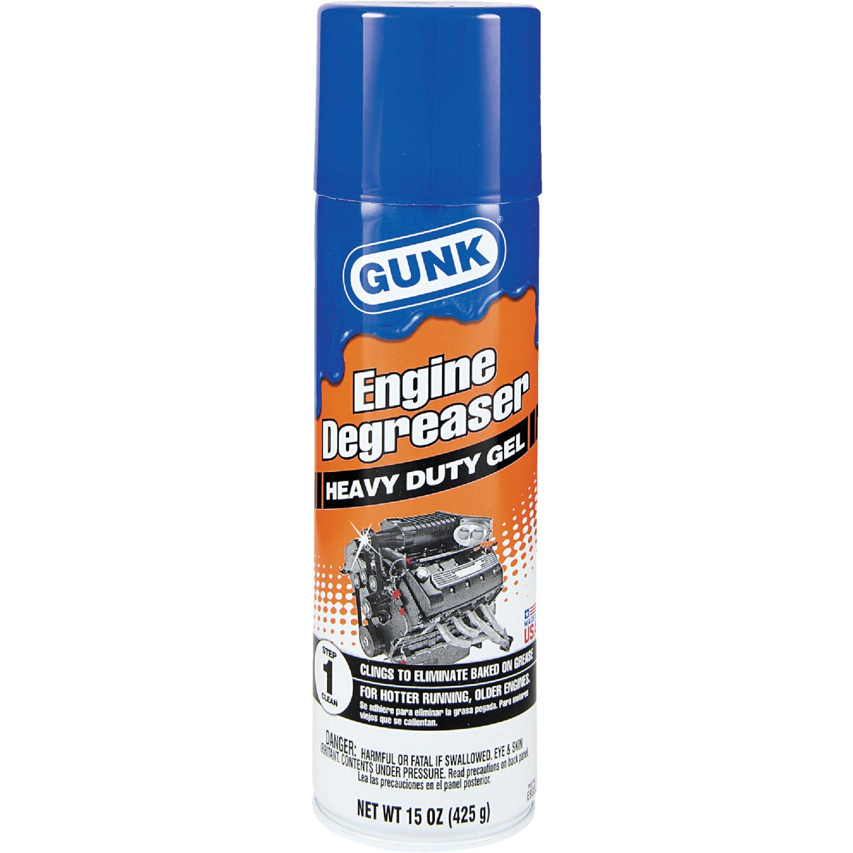 ENGINE DEGREASER HD GEL