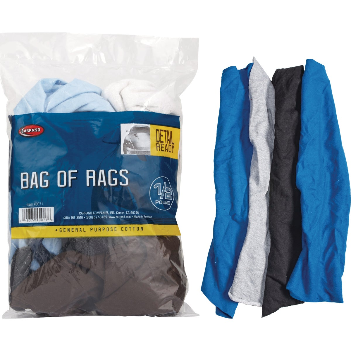 1/2LB BAG CLEANING RAGS
