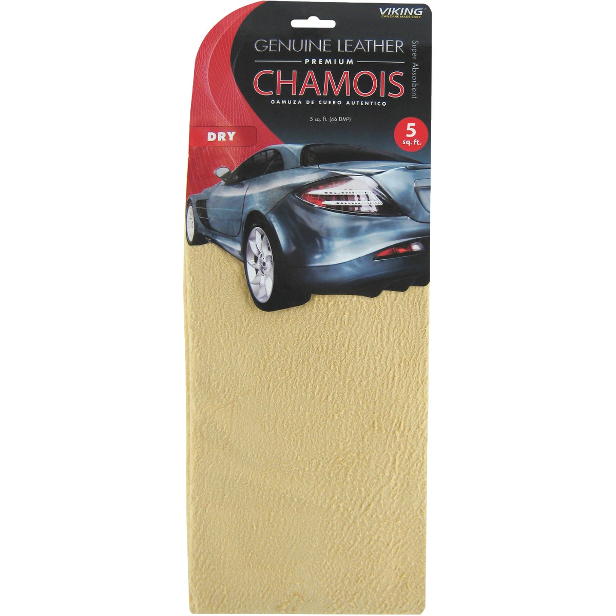 4 SQ FT CHAMOIS