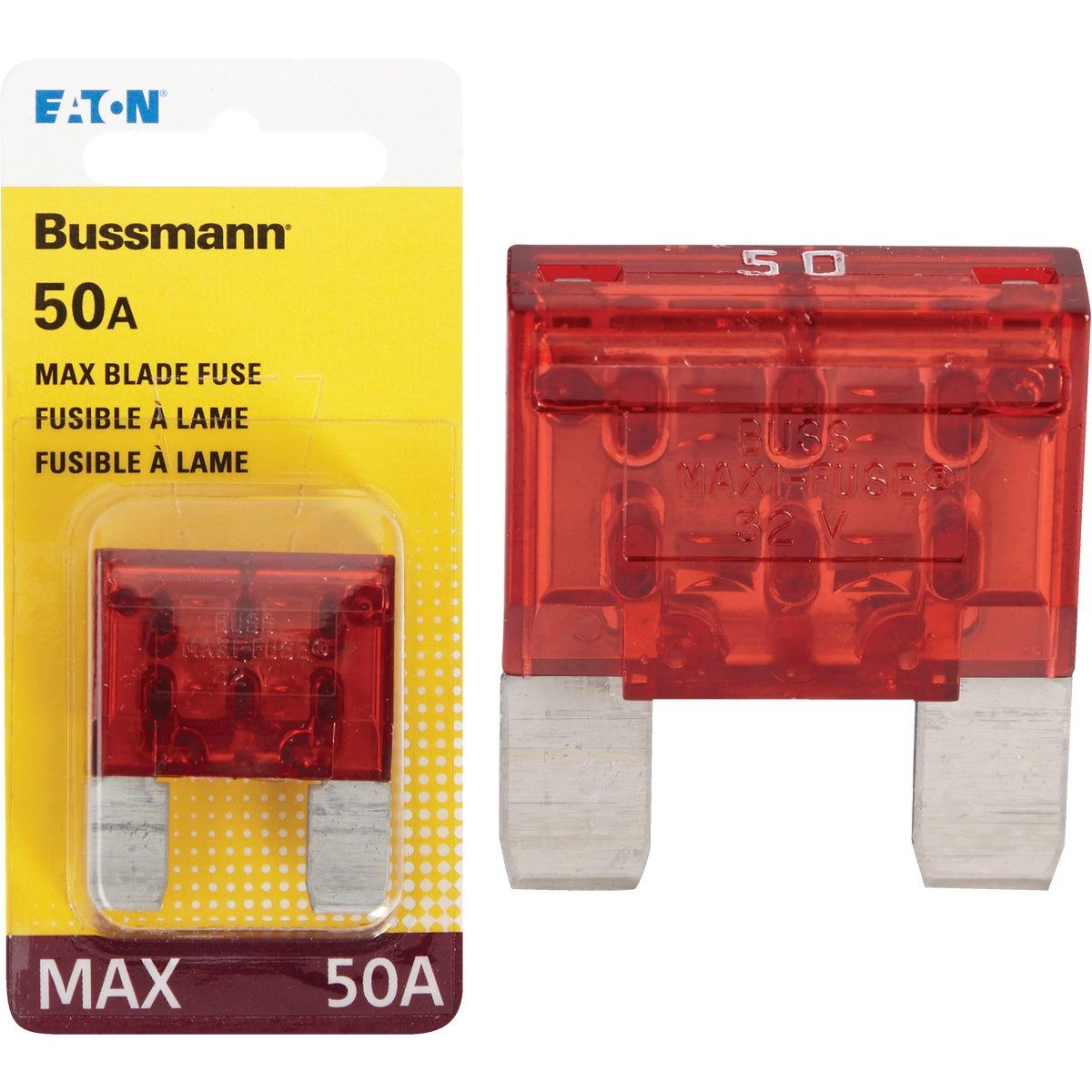 50AMP MAXI FUSE - BP/MAX-50-RP by Bussmann Cooper