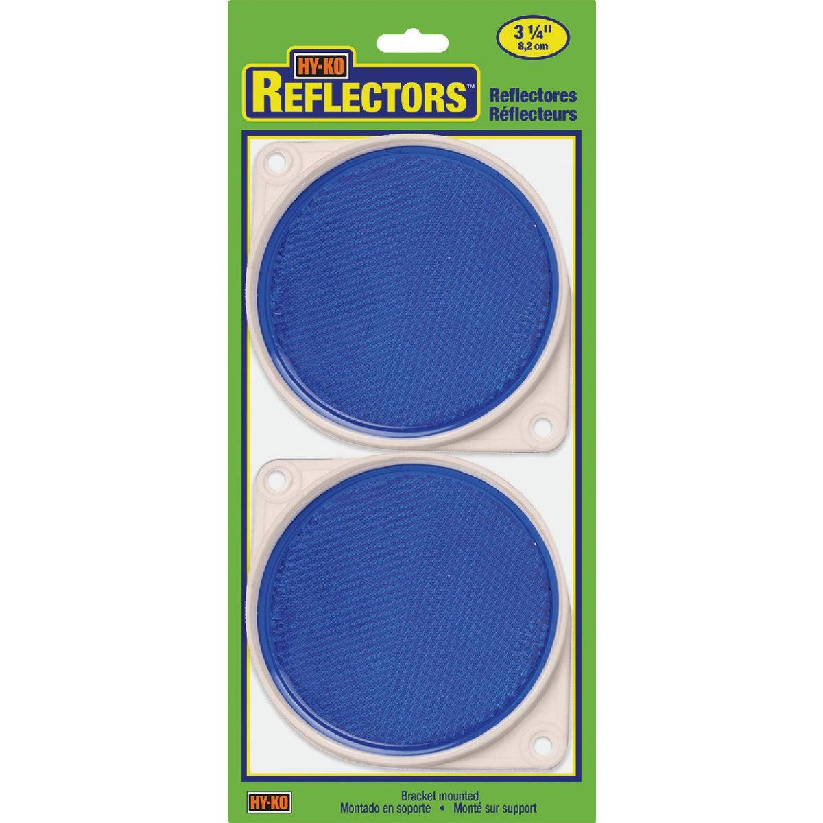 NAIL ON BLUE REFLECTORS