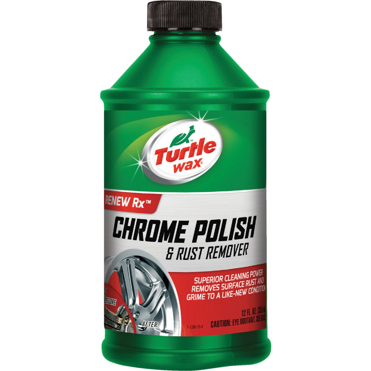 12OZ CHROME POLISH - T280RA by Turtle Wax Inc