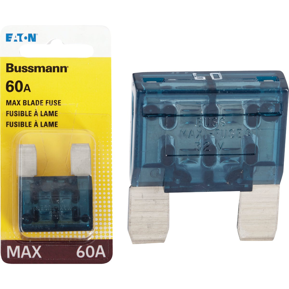 60AMP MAXI FUSE - BP/MAX-60-RP by Bussmann Cooper