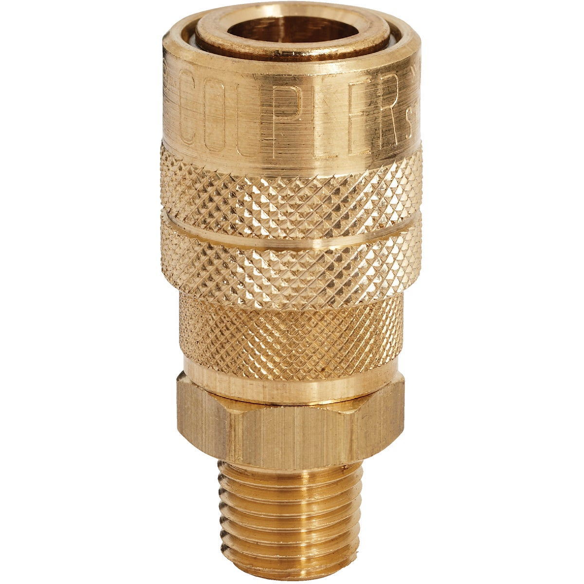 1/4 MALE M STYLE COUPLER - S-716 by Milton Ind/ Incom
