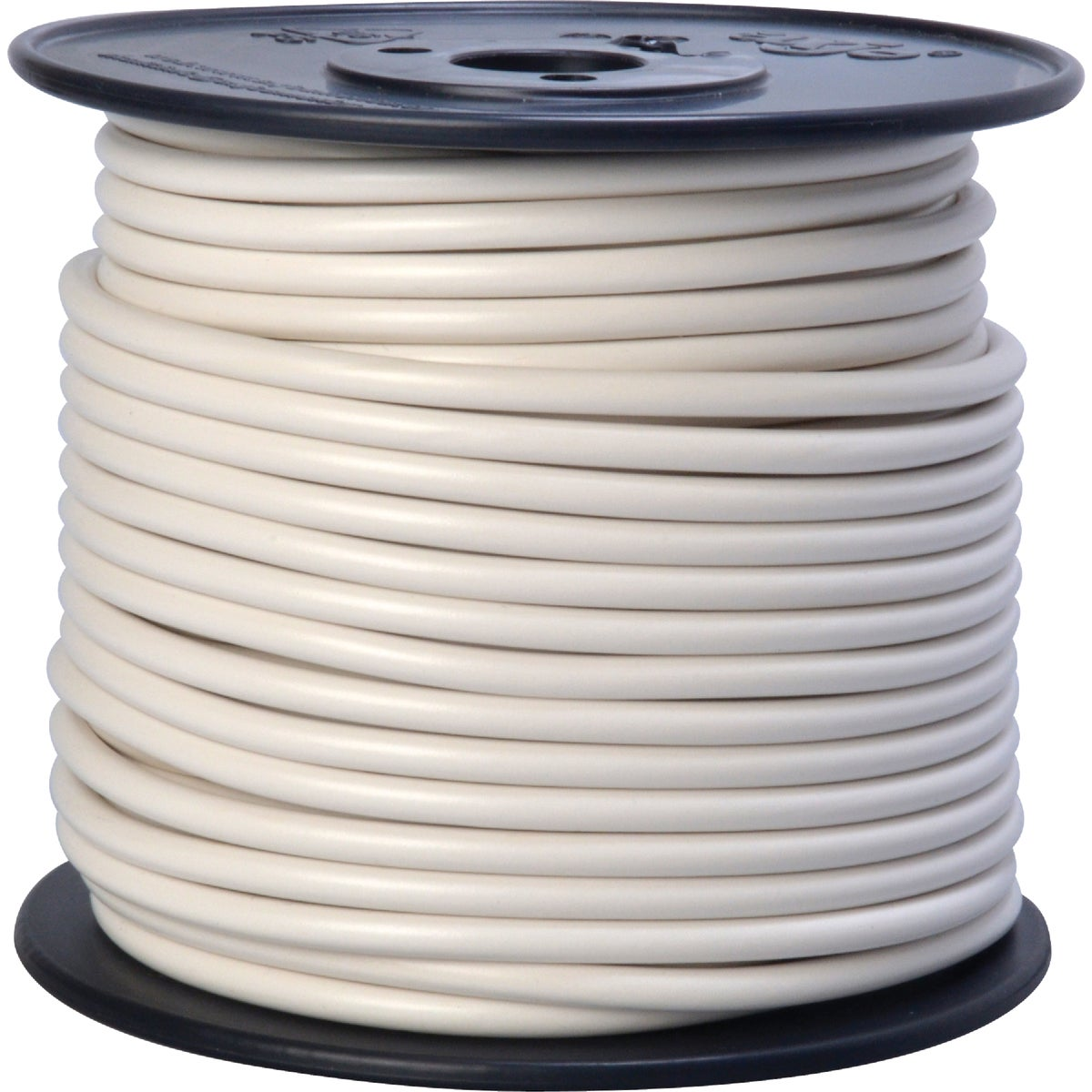 100' 10GA WHT AUTO WIRE - 10-100-17 by Woods Wire Coleman