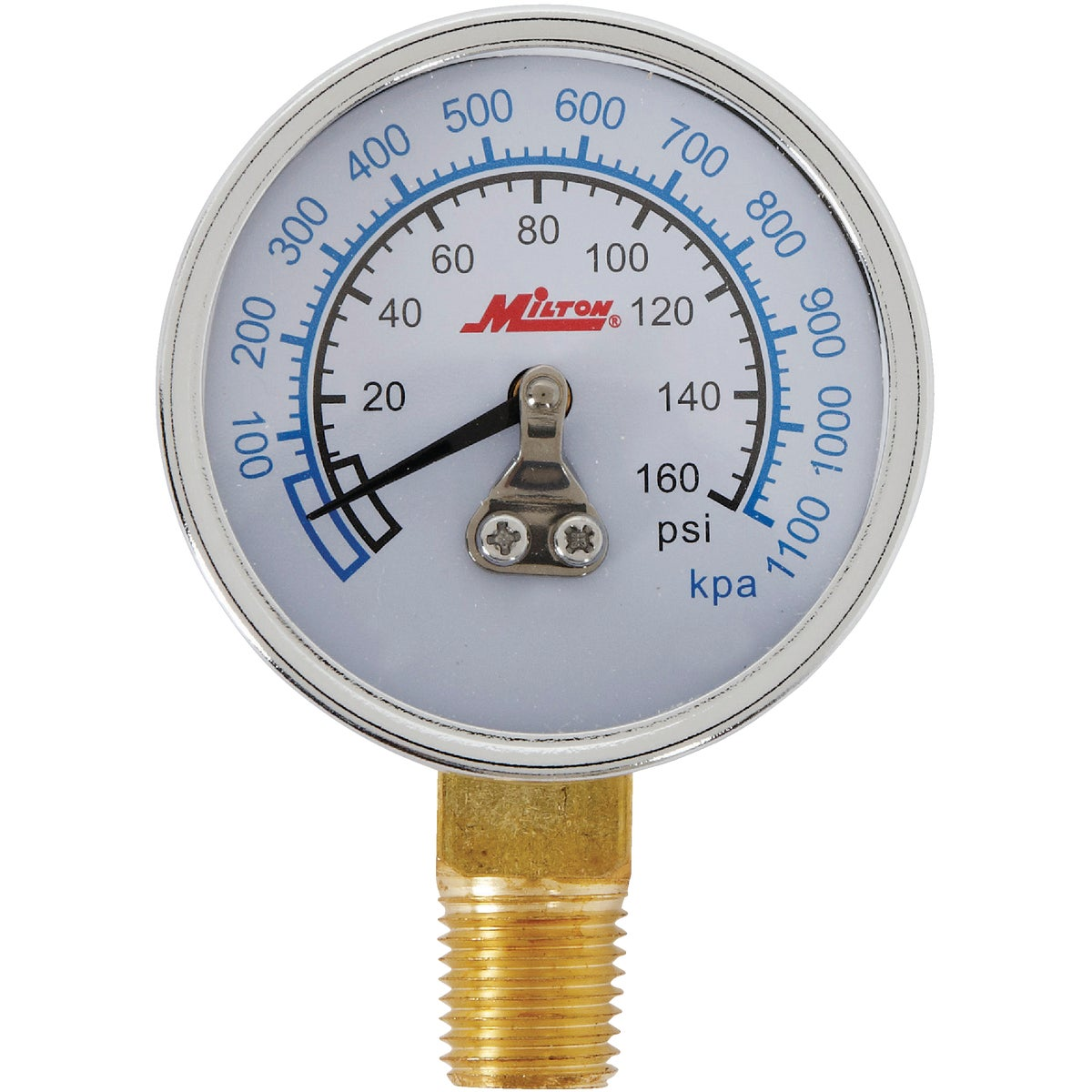 1/4NPT BOT MOUNT GAGE - 1194 by Milton Ind/ Incom