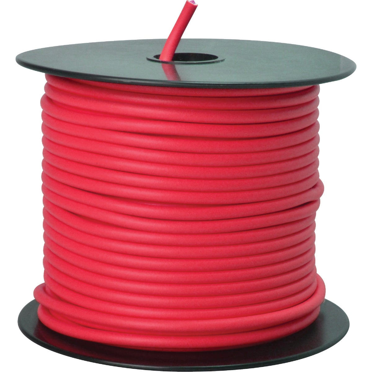 100' 12GA RED AUTO WIRE - 12-100-16 by Woods Wire Coleman