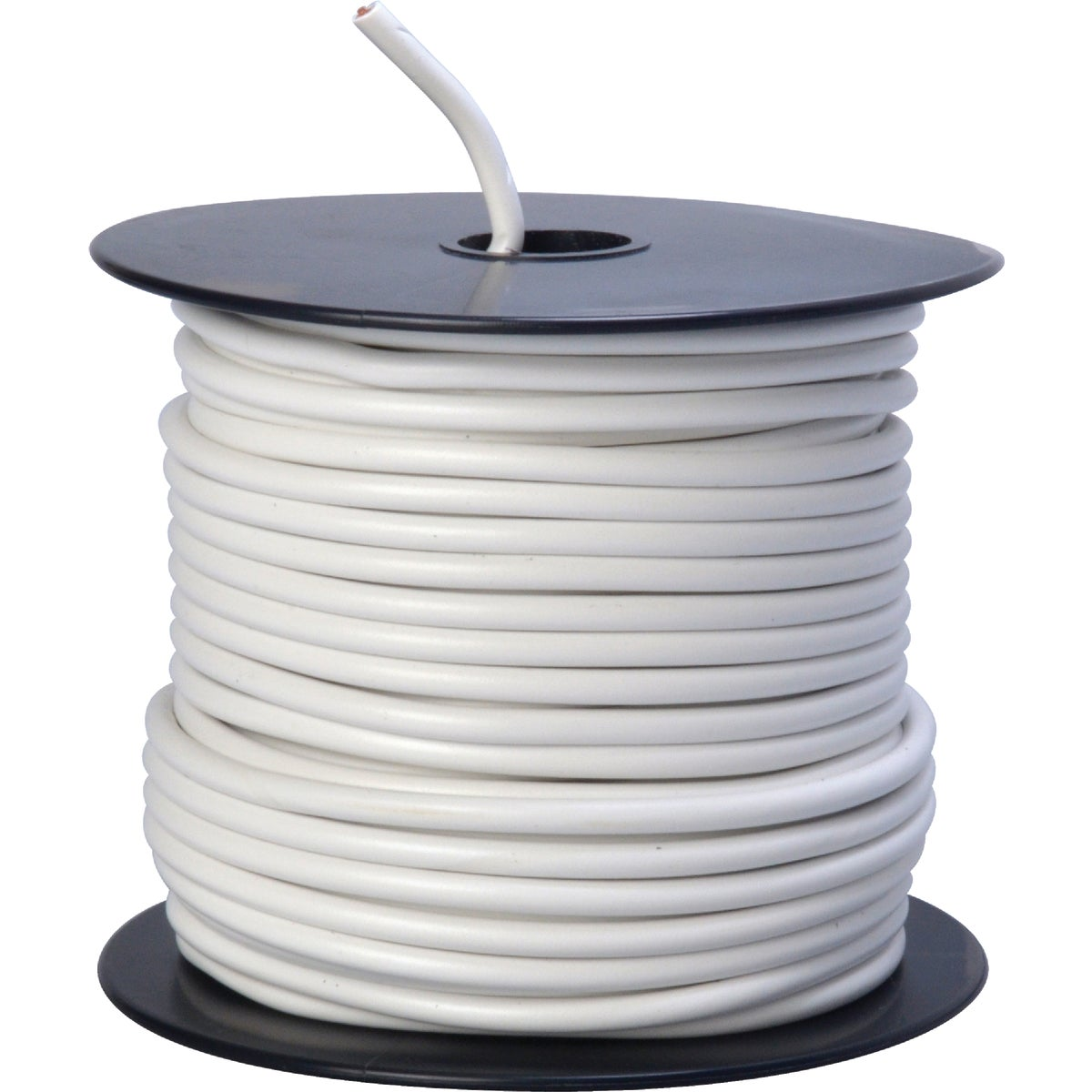100' 12GA WHT AUTO WIRE - 12-100-17 by Woods Wire Coleman