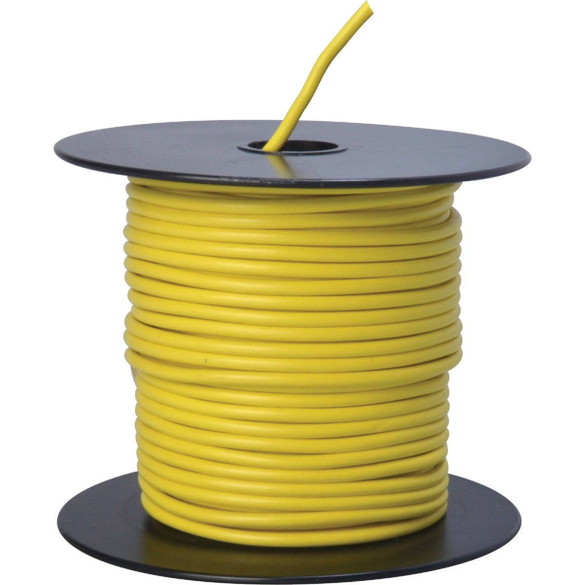 100' 14GA YEL AUTO WIRE - 14-100-14 by Woods Wire Coleman