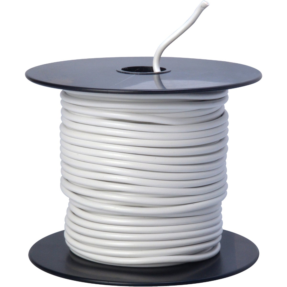 100' 14GA WHT AUTO WIRE - 14-100-17 by Woods Wire Coleman