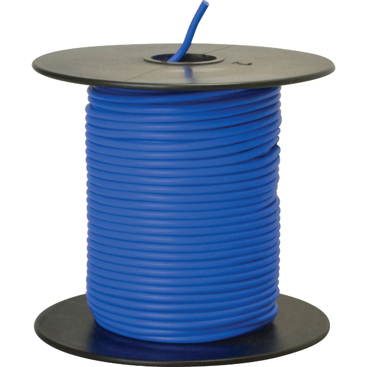 100' 18GA BLUE AUTO WIRE - 18-100-12 by Woods Wire Coleman