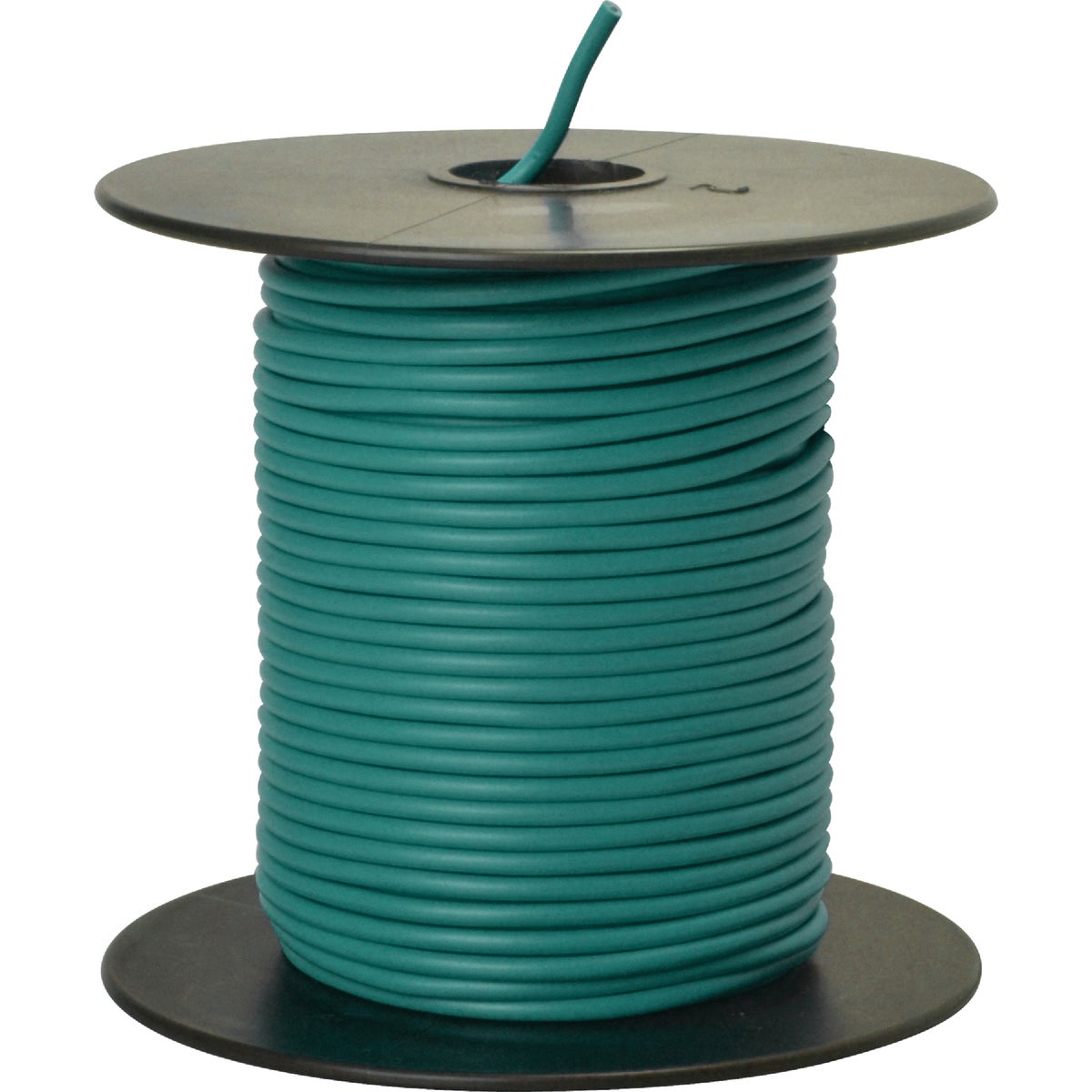 100' 18GA GRN AUTO WIRE - 18-100-15 by Woods Wire Coleman
