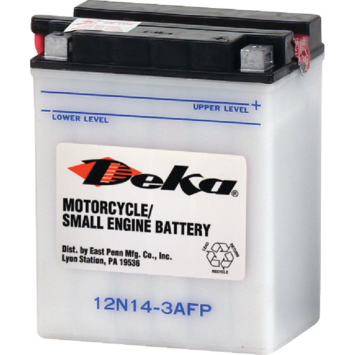 Deka Powersport Battery, 12N143AFP