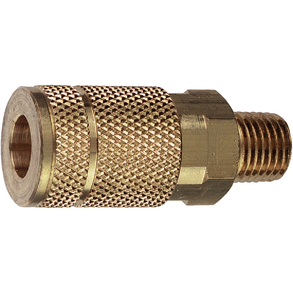 "1/4"" T-F MALE COUPLER - 13-125 by Plews  Lubrimatic"