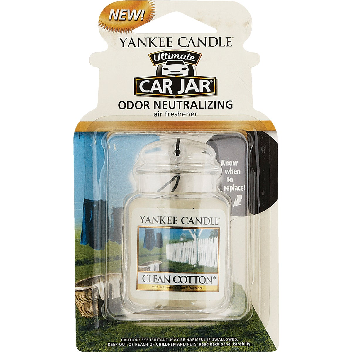 CLN COTTON CAR JAR ULTMT - 1220878 by Yankee Candle Co