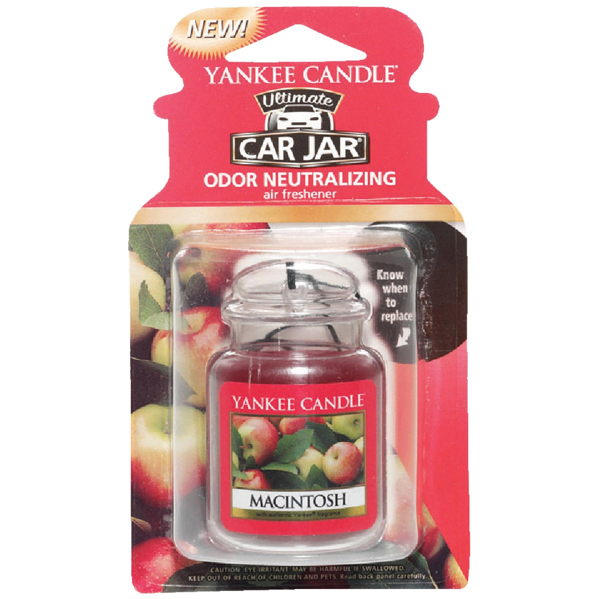 MACINTOSH CAR JAR ULTMT - 1220885 by Yankee Candle Co