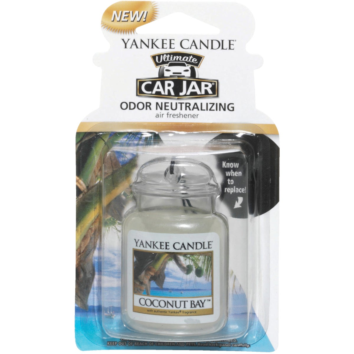 COCONUT CAR JAR ULTMT - 1220879 by Yankee Candle Co