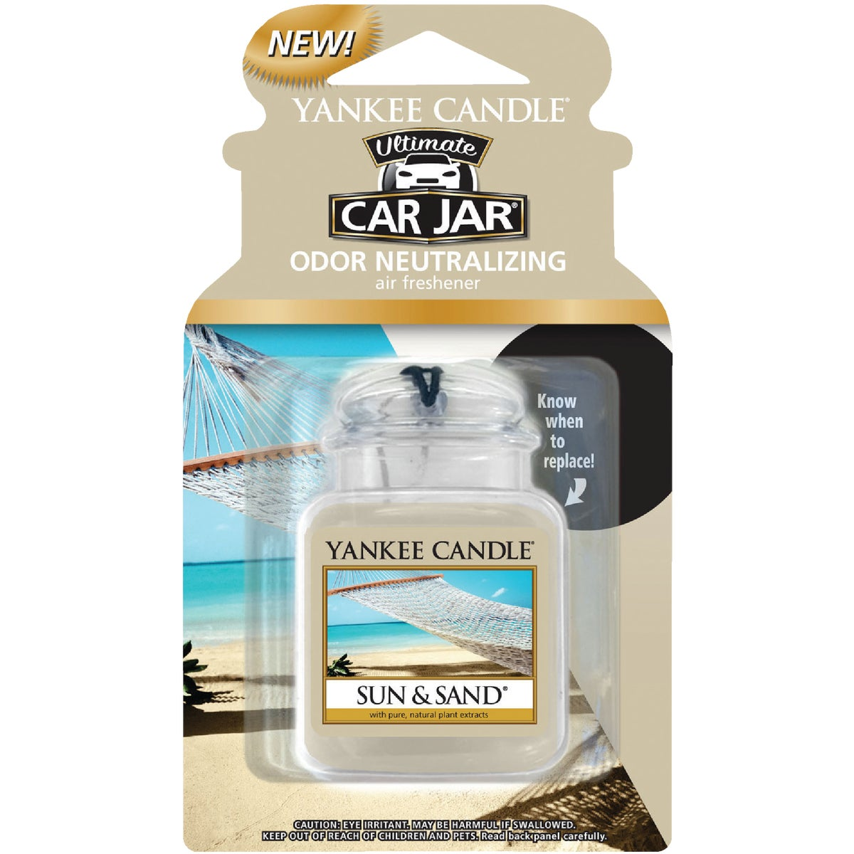 SUN & SAND CAR JAR ULTMT - 1220890 by Yankee Candle Co