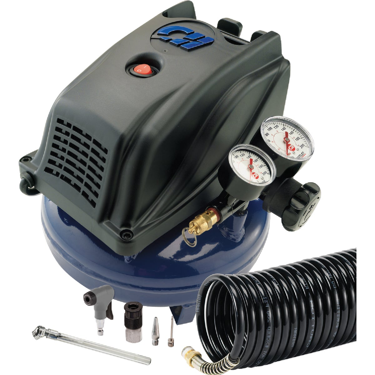 Campbell Hausfeld 1 Gal. Pancake Air Compressor Kit