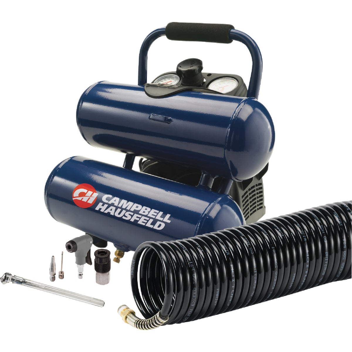Campbell Hausfeld 2 Gal. Twin-Stack Air Compressor Kit