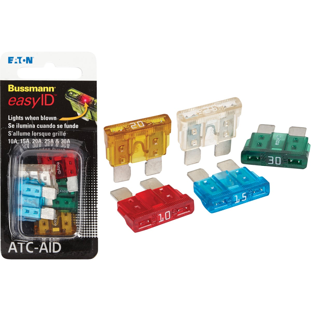 EASYID ASSORTMENT FUSE - BP/ATC-AID by Bussmann Cooper