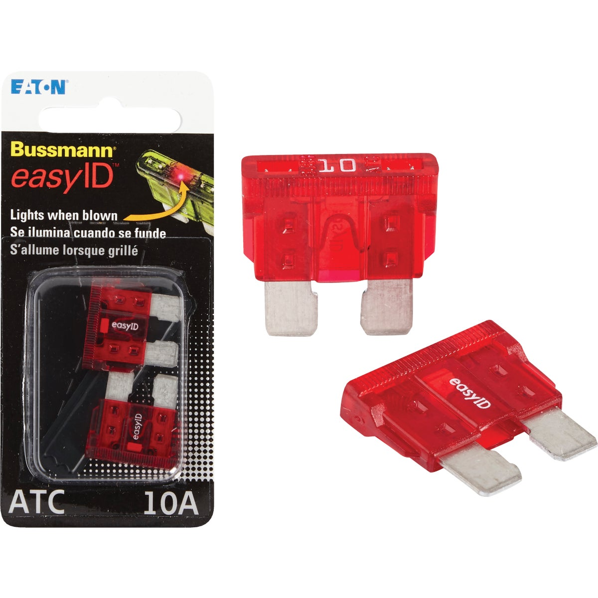 2PK 10A ATC EASY ID FUSE - BP/ATC-10ID by Bussmann Cooper