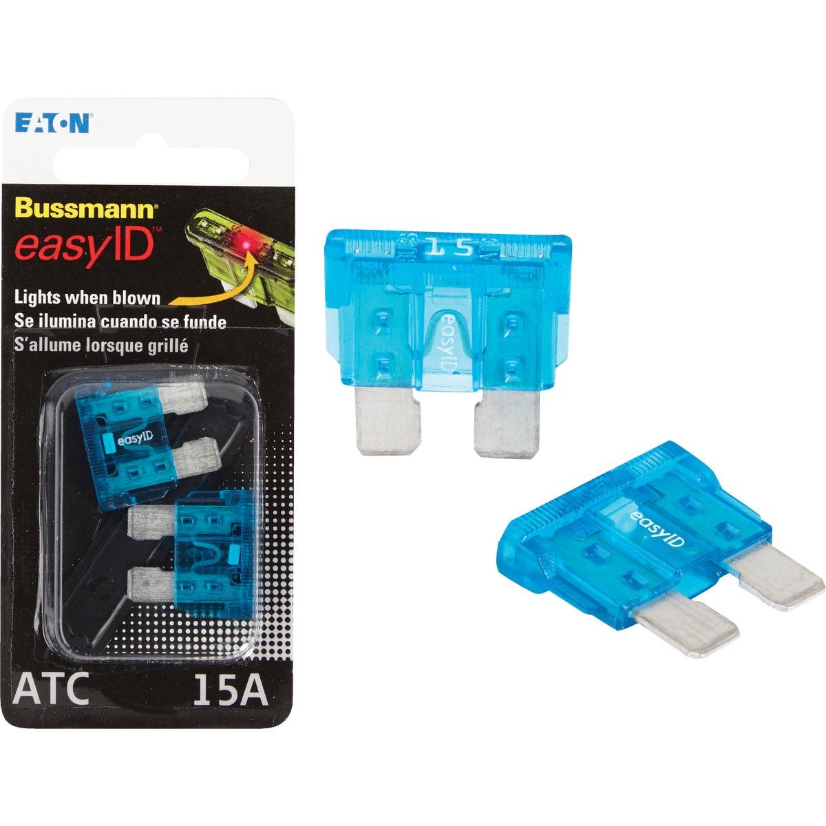 2PK 15A ATC EASY ID FUSE