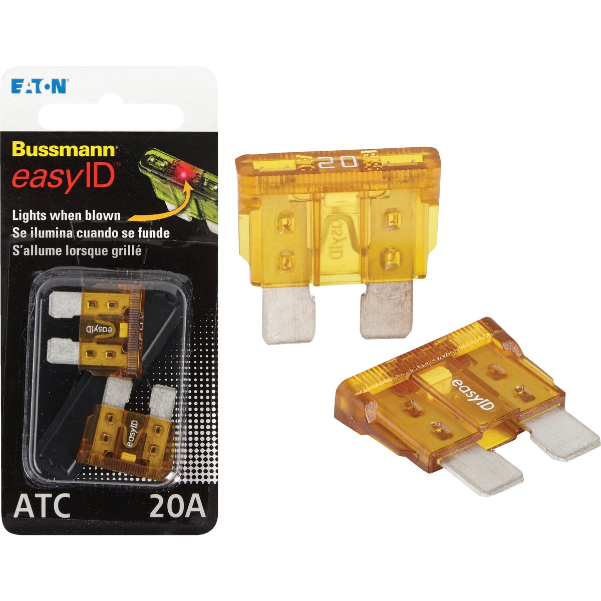 2PK 20A ATC EASY ID FUSE - BP/ATC-20ID by Bussmann Cooper