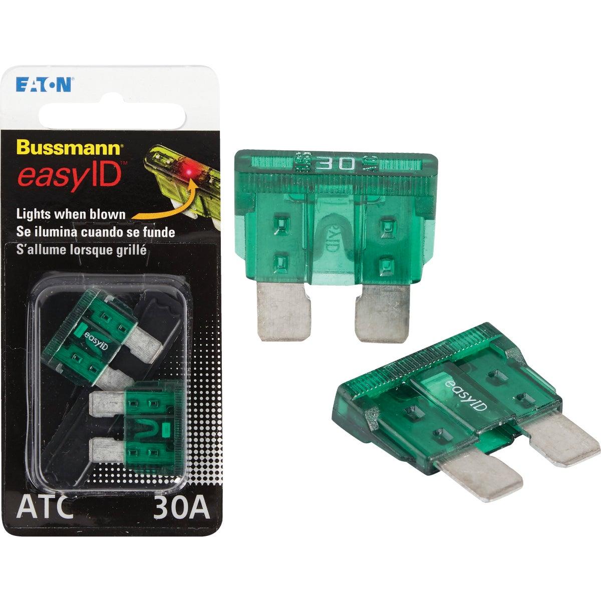 2PK 30A ATC EASY ID FUSE - BP/ATC-30ID by Bussmann Cooper