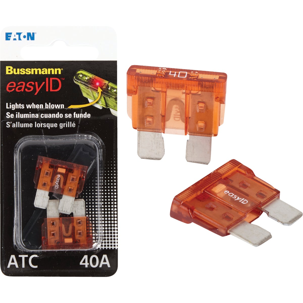 2PK 40A ATC EASY ID FUSE - BP/ATC-40ID by Bussmann Cooper