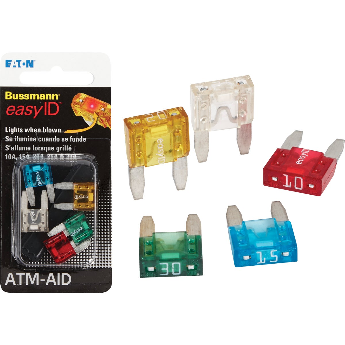 EASY ID FUSE ASSORTMENT - BP/ATM-AID by Bussmann Cooper