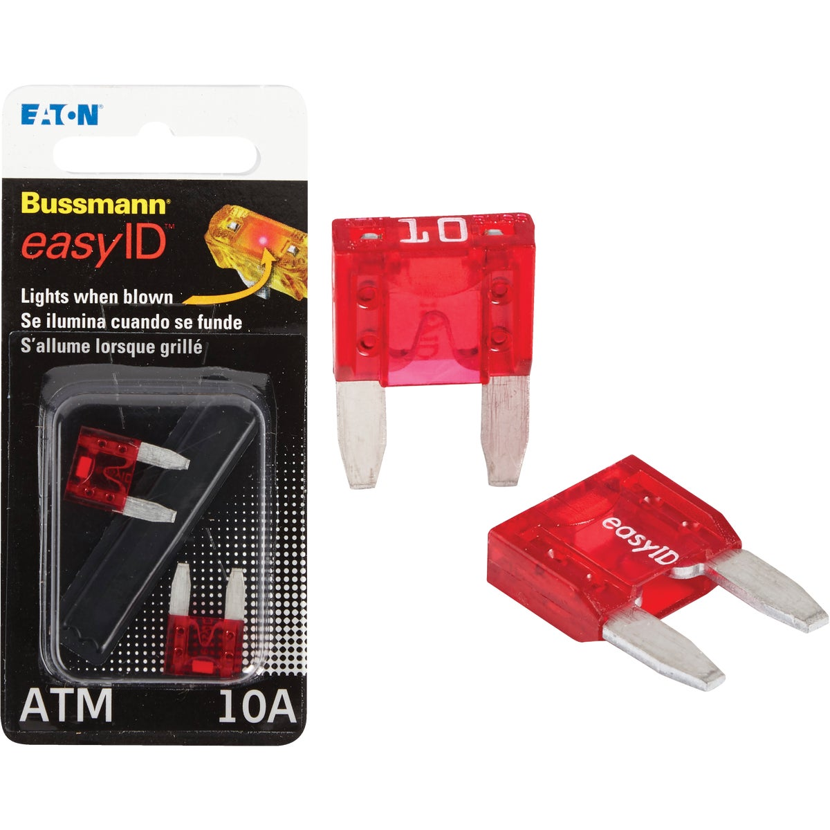 2PK 10A ATM EASY ID FUSE