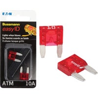 Bussmann easyID Illuminating Automotive Fuse, BP/ATM-10ID