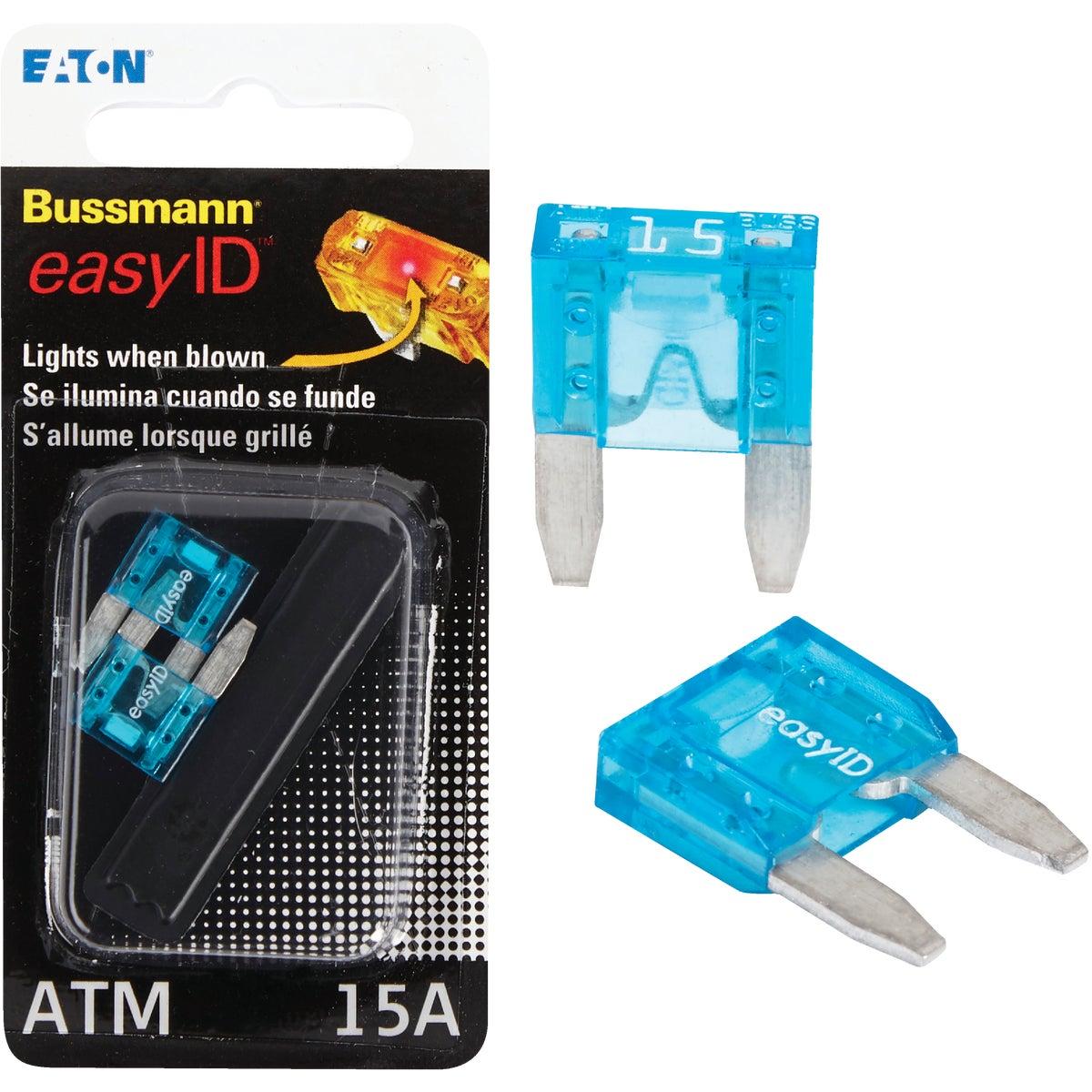 2PK 15A ATM EASY ID FUSE - BP/ATM-15ID by Bussmann Cooper
