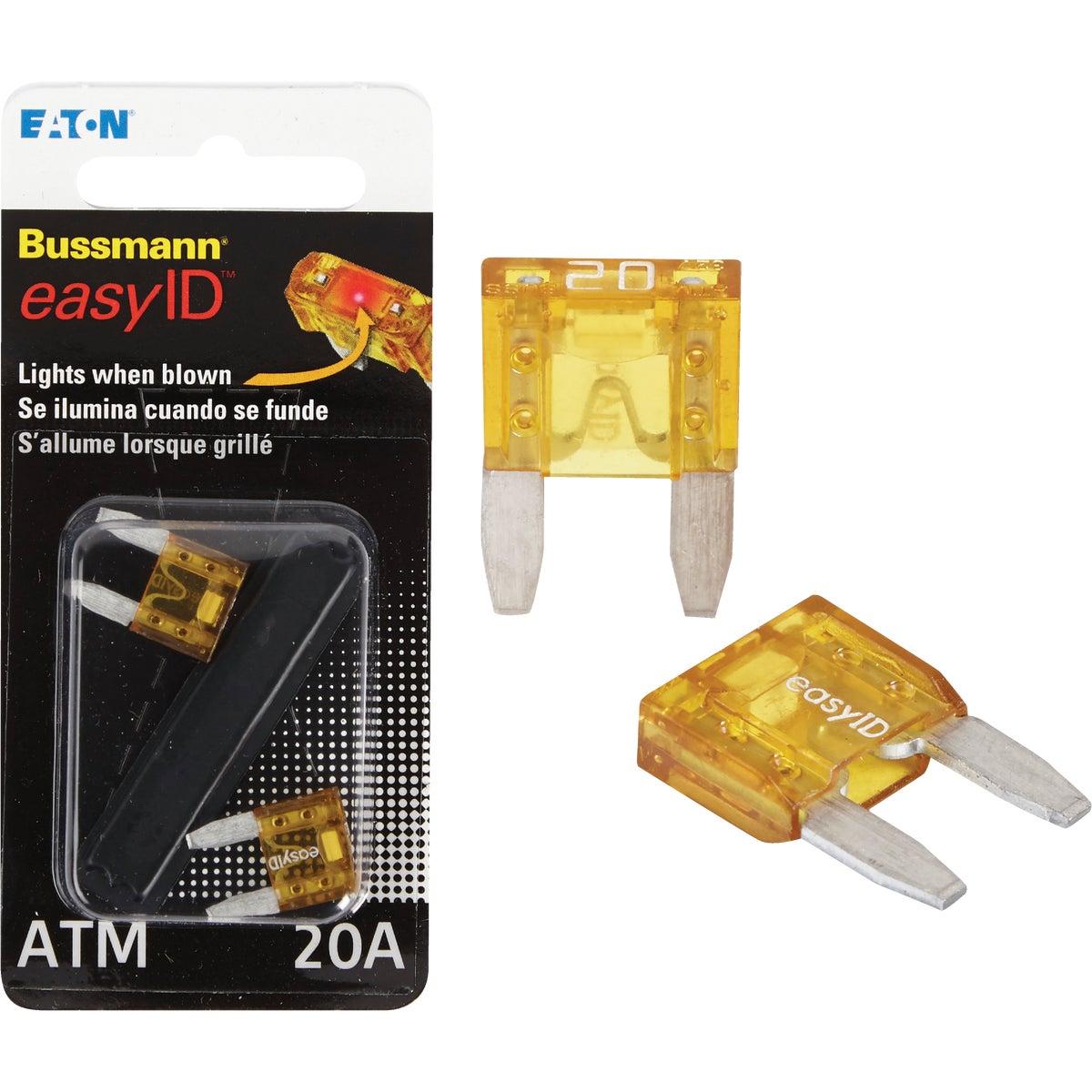 2PK 20A ATM EASY ID FUSE - BP/ATM-20ID by Bussmann Cooper