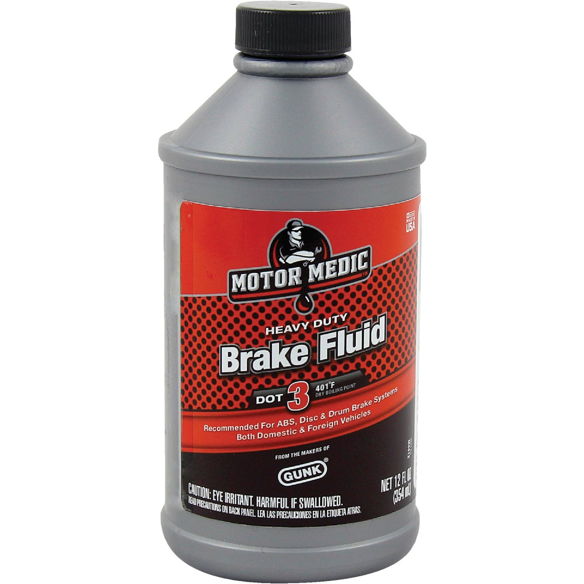 12OZ BRAKE FLUID - M4412 by Radiator Specialty