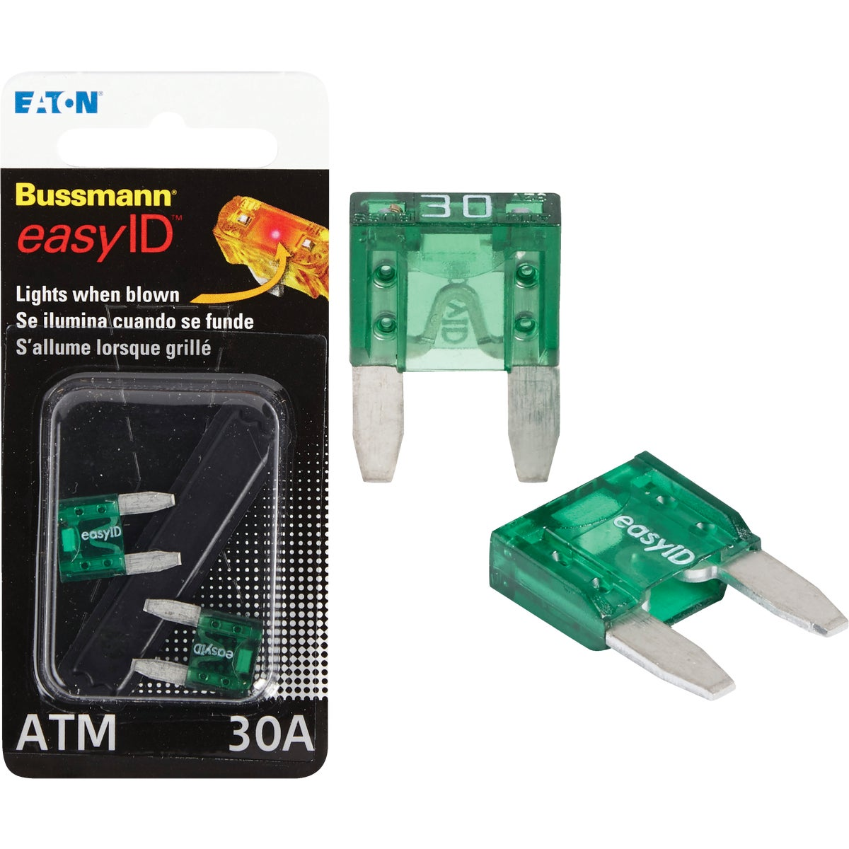 2PK 30A ATM EASY ID FUSE - BP/ATM-30ID by Bussmann Cooper